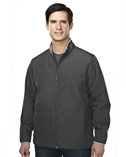 Tri-Mountain 6250 Men's 100% polyester long sleeve jacket with water proof
