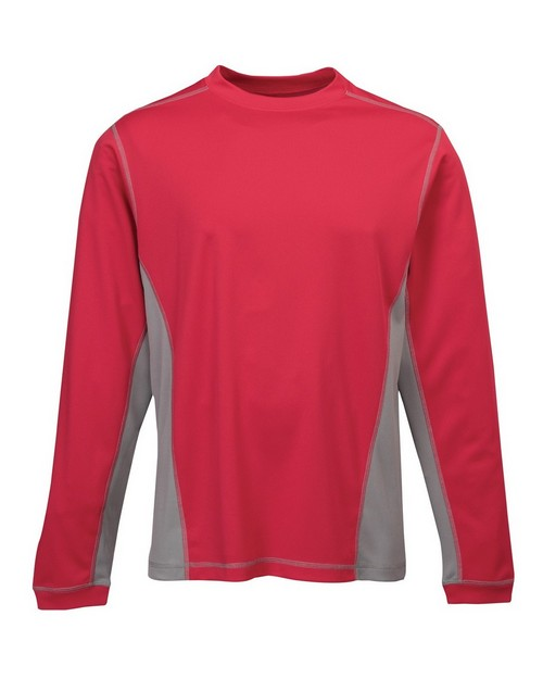 Tri-Mountain 633 Men's 100% Polyester Knit Pullover
