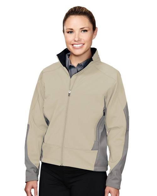 Tri-Mountain Performance 6425 Fidelity 3 Layer Windproof Water Resistant Soft Shell Jacket