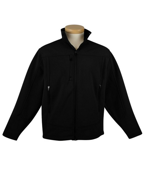 Tri-Mountain Performance 6825 Poly stretch bonded soft shell jacket with sherpa fleece lining