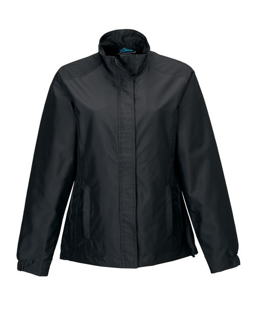 Tri-Mountain 6860 Women's 100% Polyester woven long sleeve jacket with 600mm coating