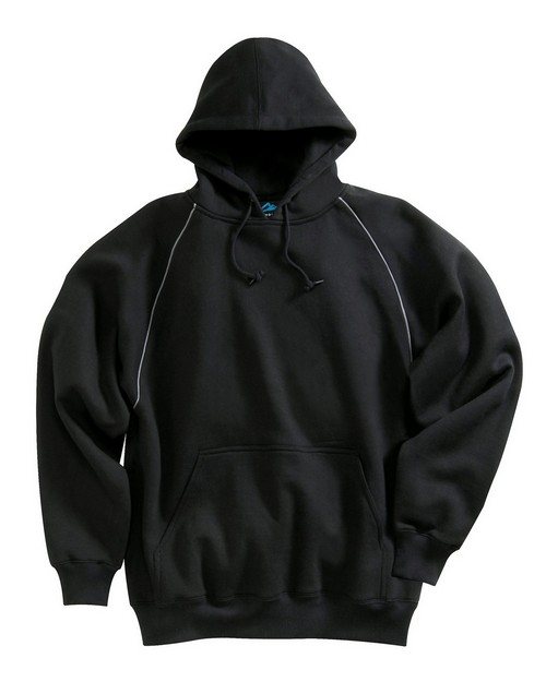 Tri-Mountain 687 Men 80/20 premium hooded sweatshirt