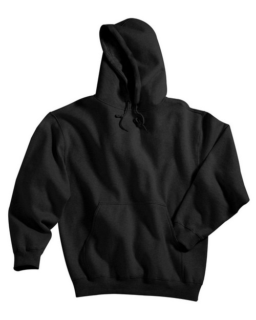 Tri-Mountain 689 Cotton/poly sueded finish hooded sweatshirt