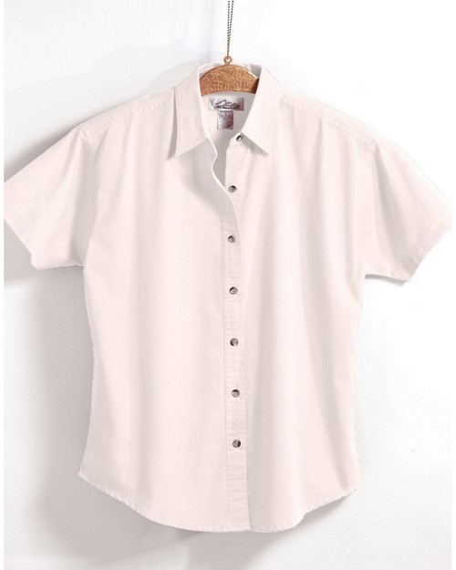 Tri-Mountain 711 Monarch Easy Care Short Sleeve Twill Shirt