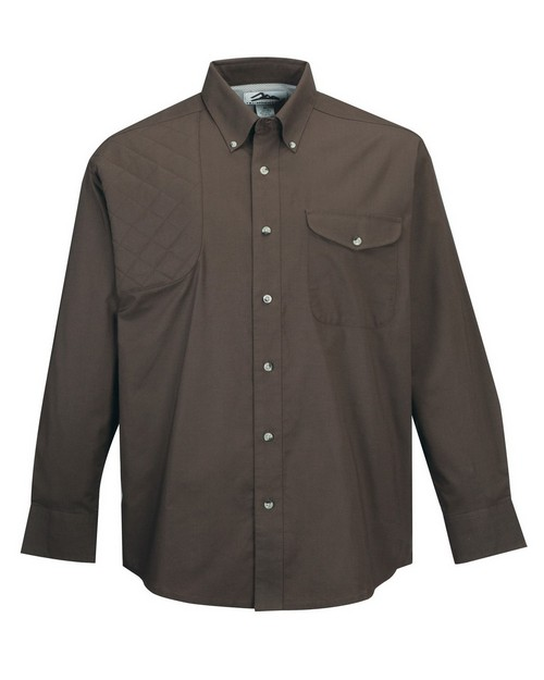 Tri-Mountain 786 Men's Cotton/Poly 60/40 LS Woven Shooting Shirt