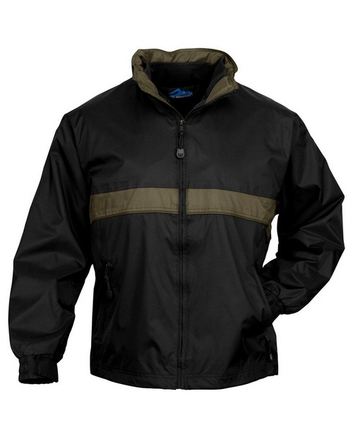 Tri-Mountain 7950 Men's waterproof nylon 3-in-1 jacket