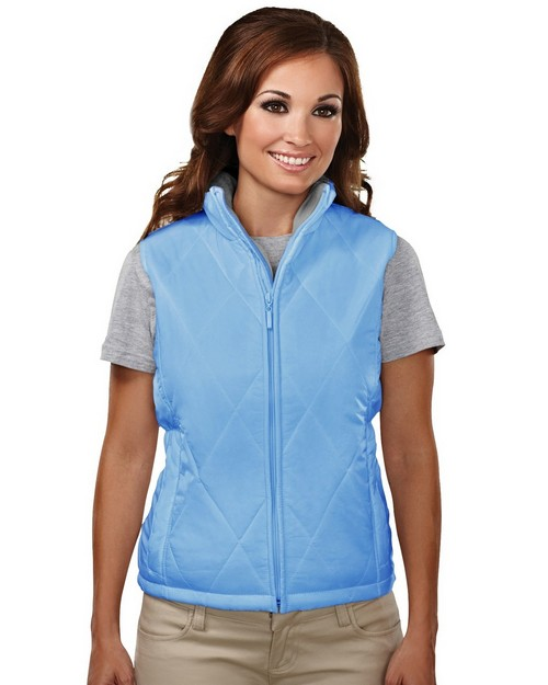 Tri-Mountain 8120 Breeze Women Nylon Quilted Vest