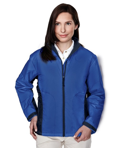 Tri-Mountain 8230 Encore Windproof Water Resistant Nylon Jacket with Microfiber Quilted Lining