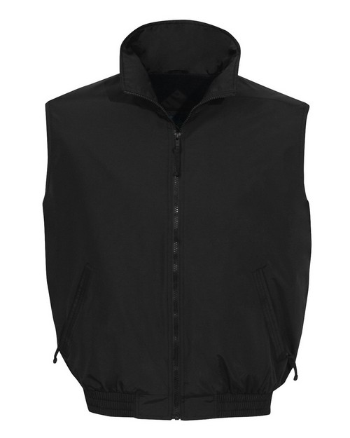 Tri-Mountain 8400 Ridge Nylon Vest with Fleece Lining