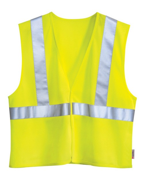 Tri-Mountain 8430 Polyester Safety Vest ANSI Class 2  Level 2
