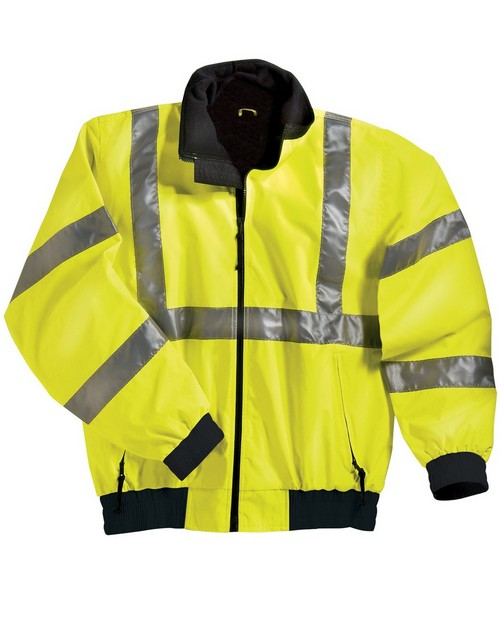 Tri-Mountain 8830 District Compliant Safety Jacket with Reflective Tape