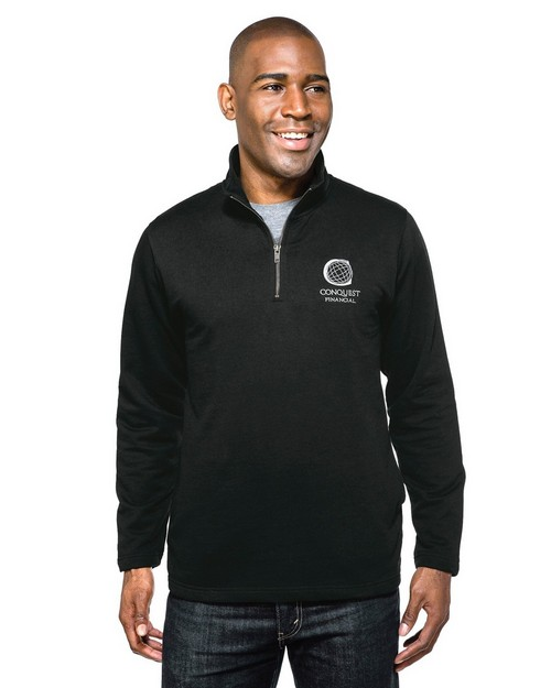 Tri-Mountain F581 Alta 1/4 Zip Pullover Sweatshirt