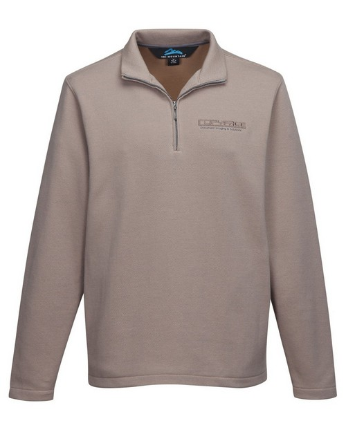 Tri-Mountain F595 Men's 1/4 Zip Sweatshirt