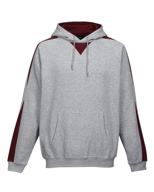 Tri-Mountain Performance F685 Men's 60/40% Cotton & polyester Ultra Cool Pullover Hood With Sweatshirt