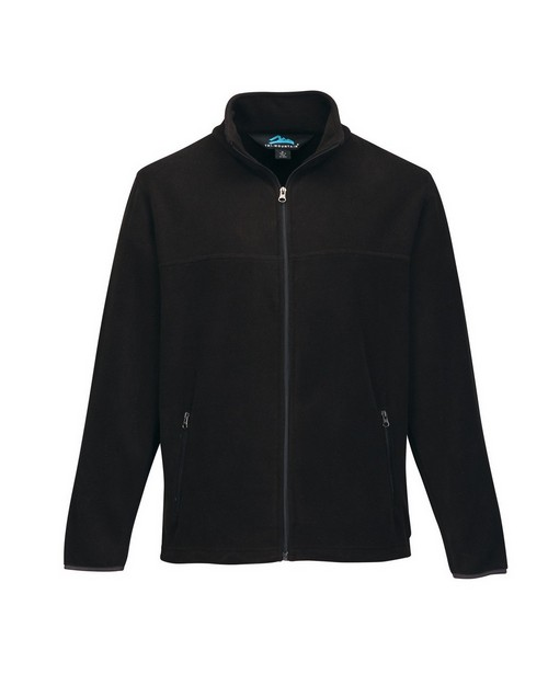 Tri-Mountain F7608 Mens Polar Slash Zippered Fleece Jacket With Pockets