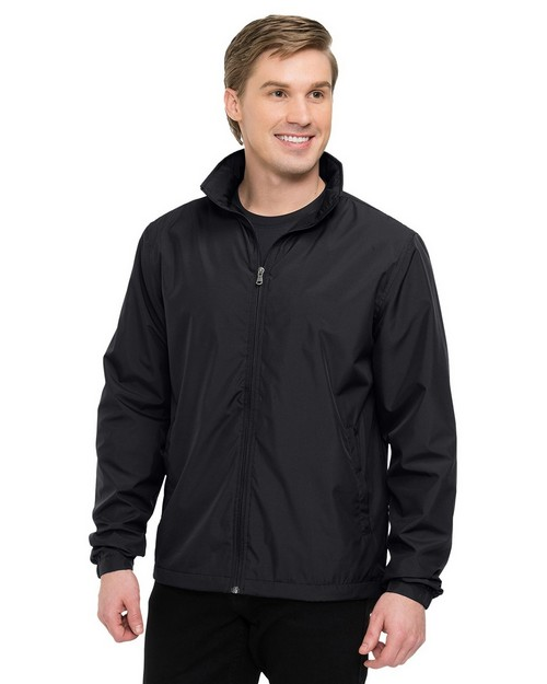 Tri-Mountain J1400 Men's 100% Polyester Full Zip Jacket