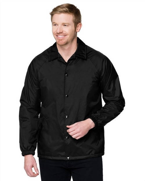 Tri-Mountain J1510 Men's Windproof/Water Resistant Nylon Body Lining Tricot Polyester Jacket
