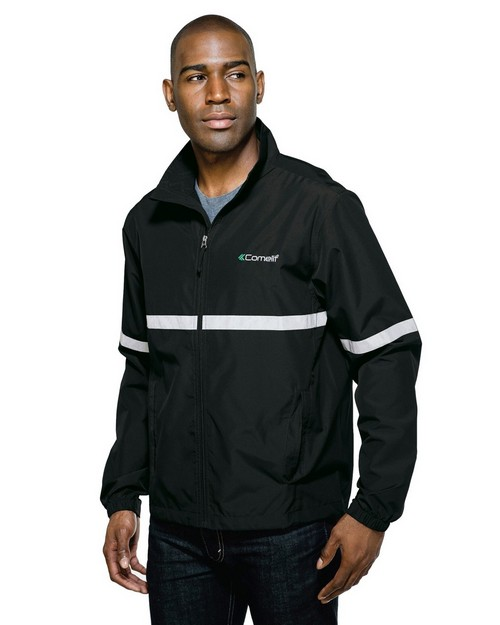 Tri-Mountain J1735 Ward Lightweight Jacket Features a Shell of Windproof/Water Resistant Polyester