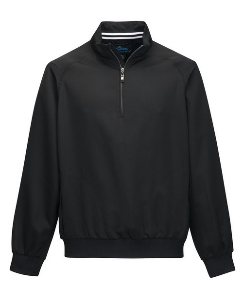 Tri-Mountain J2660 Men's 100% Micro Polyester 1/4 Zip Raglan Sleeve pullover