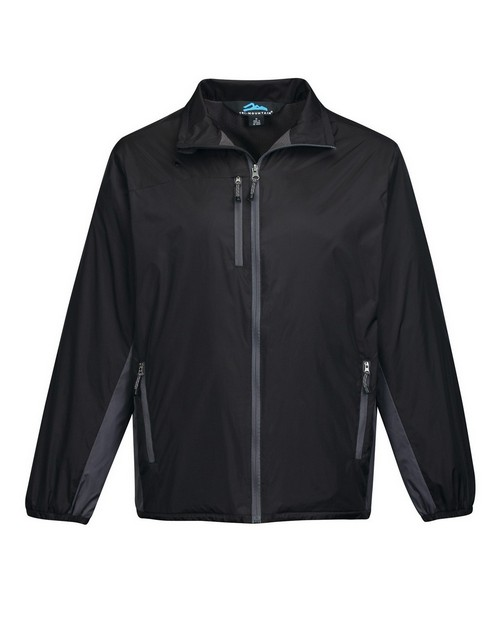 Tri-Mountain J3300 Men's Full Zip Nylon Wind Jacket