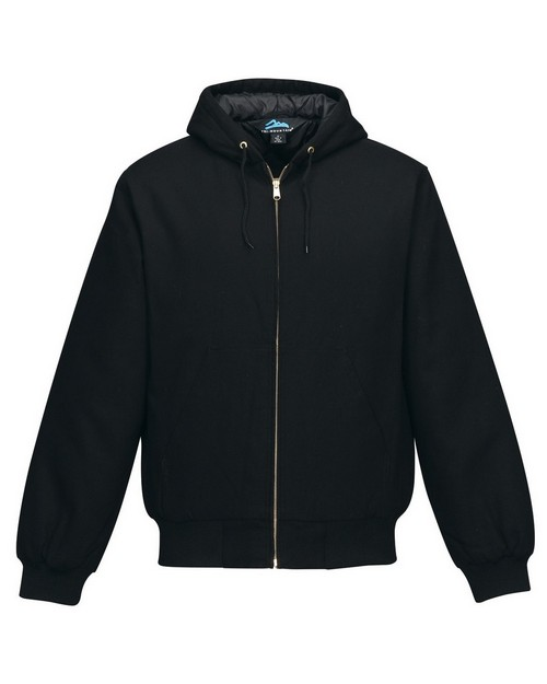 Tri-Mountain J4550 Men's Cotton Canvas Hooded Jacket