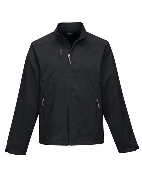 Tri-Mountain J6205 Men's dobby full zip jacket