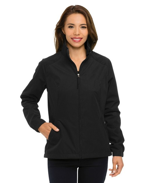 Tri-Mountain Jl5308 Women's 65% Polyester 35% Cotton Full Zip Jacket
