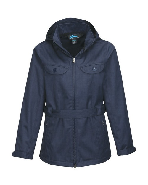 Tri-Mountain JL6025 Women's 100% Polyester Hooded Jacket