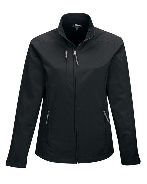 Tri-Mountain Performance JL6205 Women's 96% Polyester 4% Spandex Full Zip Dobby Jacket