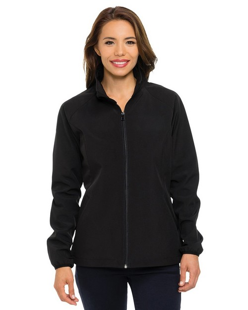 Tri-Mountain Performance Performance Jl6350 Women's 96% Polyester 4% Spandex Jacket