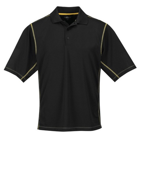 Tri-Mountain K006 Men's 100% Polyester Micro Mesh 3 Button Polo