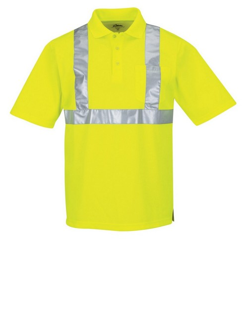 Tri-Mountain K222G Men's 100% Polyester Birdeye 3 Button Polo