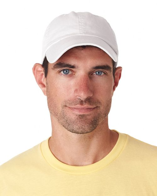 Ultraclub 8102 Solid Cotton Cap