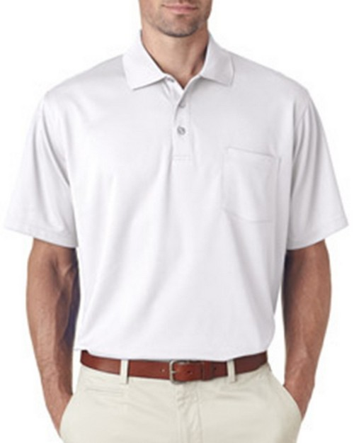 Ultraclub 8210P Adult Cool & Dry Mesh Pique Polo with Pocket