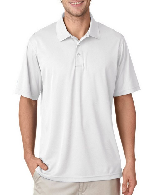 Ultraclub 8210T Men's Tall Cool & Dry Mesh Pique Polo Shirt