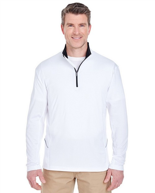 Ultraclub 8230 Adult Cool & Dry Sport 1/4 Zip Pullover
