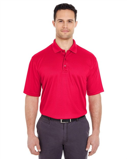 Ultraclub 8305 UC Checkerd Perf Jaq Polo