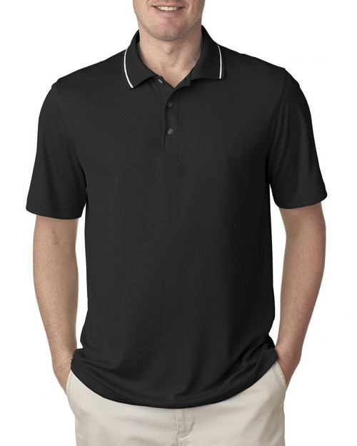 Ultraclub 8394 Men's Polo with Tipped Collar