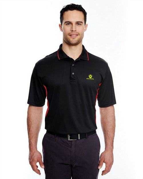 Ultraclub 8406 Adult Cool & Dry Mesh Sport Two Tone Polo