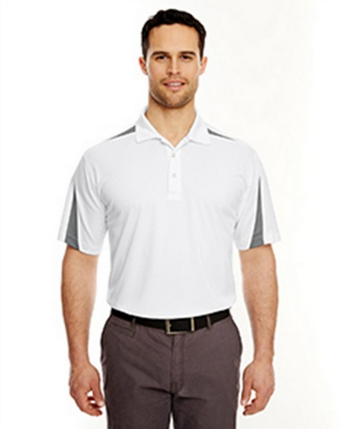 Ultraclub 8408 Mesh Block Polo