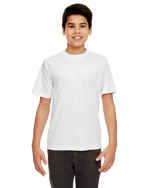 UltraClub 8420Y Youth Cool & Dry Sport Performance Interlock Tee