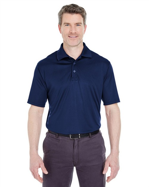 Ultraclub 8425 Performance Interlock Polo