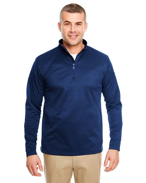 Ultraclub 8440 Poly Zip 1/4 Zip Fleece