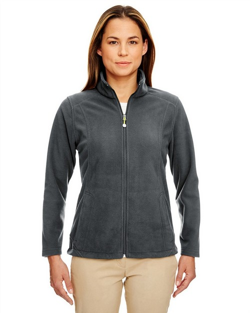 Ultraclub 8498 Ladies Micro Fleece Full Zip Jacket