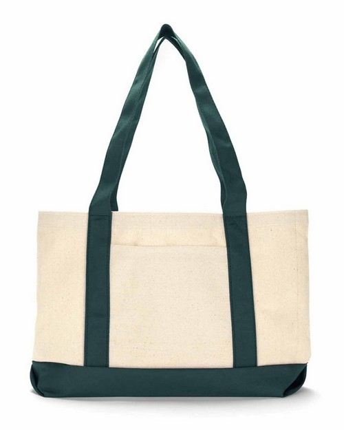 Wholesale Ultraclub 8869 Cotton Canvas Tote