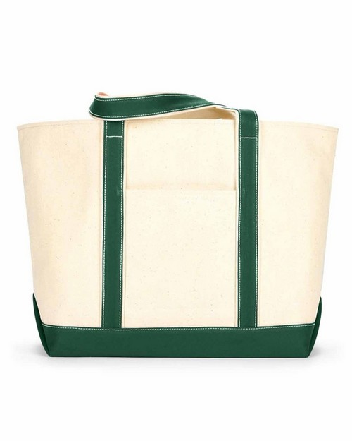 Liberty Bags 8872 UC Lg Cotton Canvas Tote