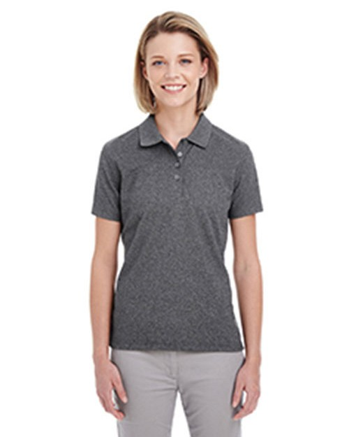 Ultraclub UC100W Ladies Heathered Pique Polo