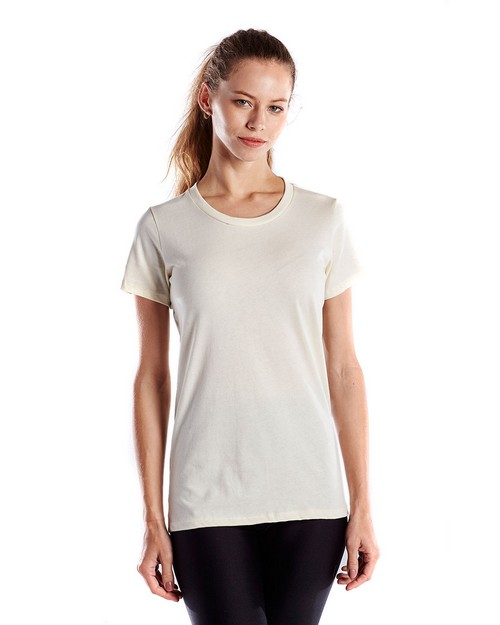 US Blanks US100GD Ladies 4.5 oz. Short-Sleeve Garment-Dyed Jersey Crew
