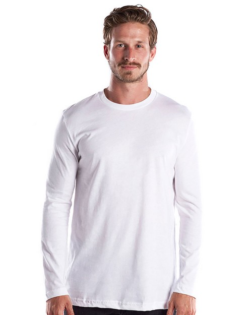 US Blanks US2090 Mens 4.3 oz. Long-Sleeve Crewneck