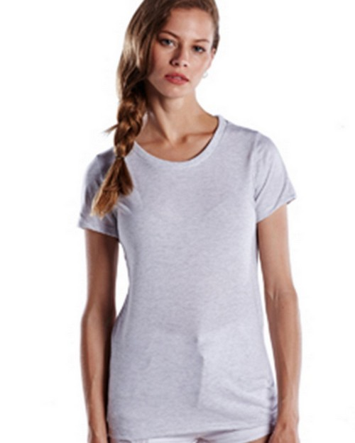 US Blanks US222 Ladies Short-Sleeve Triblend Crew